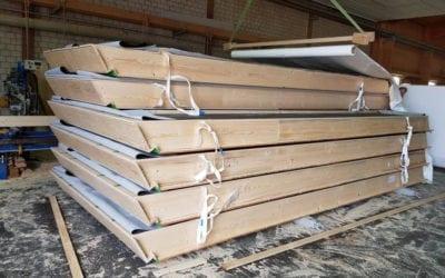 Produktion von Dachelementen in Holzrahmenbauweise!