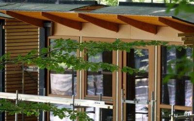 Baumhäuser vom Typ Elvis nehmen Gestalt an!