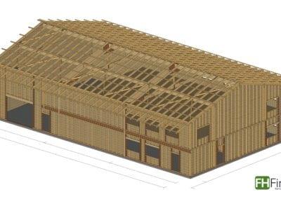 Holzhalle in Kippenheim