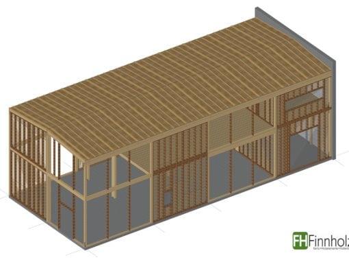 Holzhalle in Lohmar