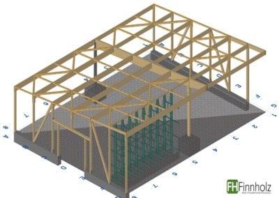 Holzhalle in Ibbenbüren