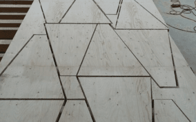 Dachüberstandsverstärkung aus Kerto
