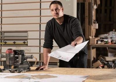 FH Finnholz Fertigung von Holzrahmenbauelementen