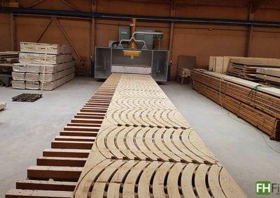 CNC Fräsungen für Kerto Deckenelemente