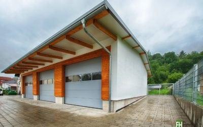 Lagerhalle in Weinheim