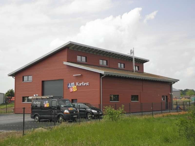 Holzhalle in Straehlen