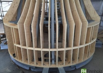 Kerto-Elemente für Parochialkirche Berlin