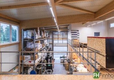Ausstellungs- und Lagerhalle in Eggenstein