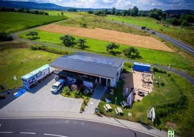 Produktions- und Fitnesshalle in Linsengericht