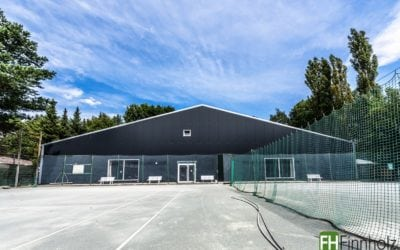 Tennis­halle in Berlin