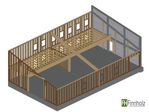 Holzhalle in Marschacht