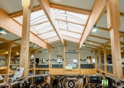 Ausstellungs- und Lagerhalle in Ellwangen