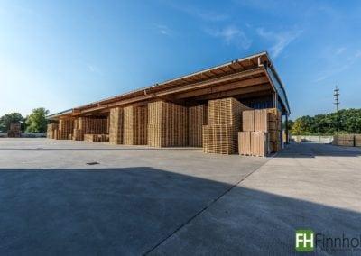 Palettenlagerhalle in Senden