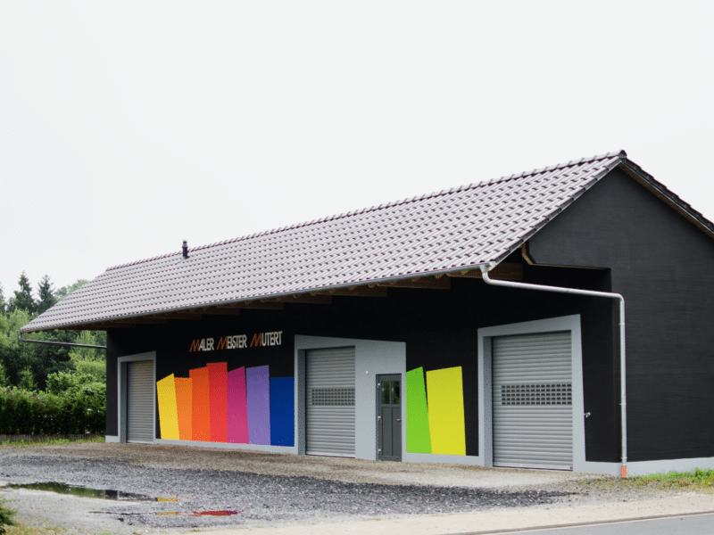 Lagerhalle in Lengerich