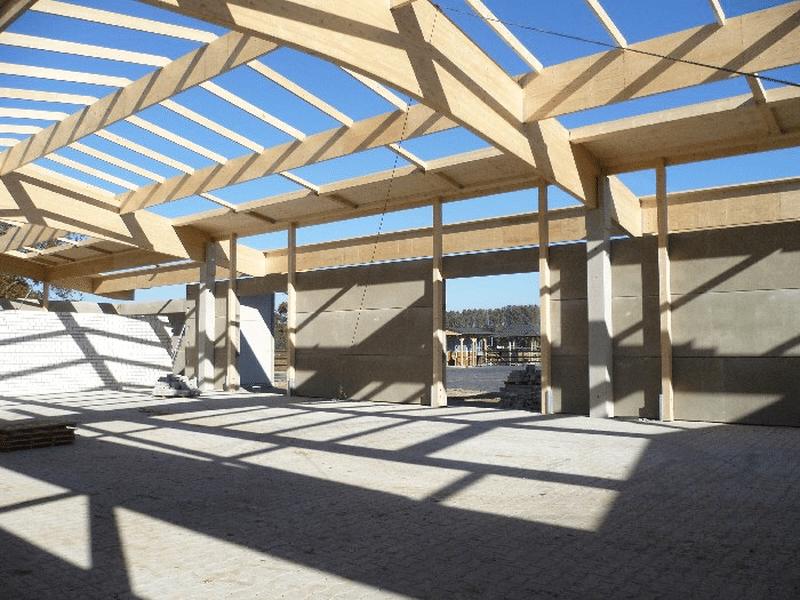 Holzkonstruktion Wettringen