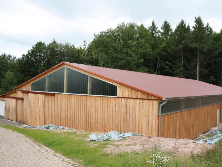 Lagerhalle Hiddenhausenholzhalle_landwirtschaftliche_nutzung_bayern