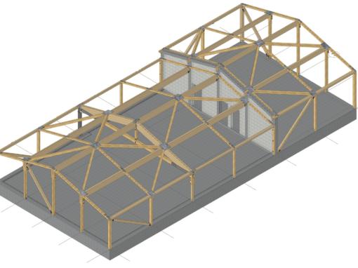 Holzhalle in Lauenburg