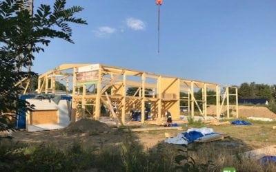 Neubau einer Gewerbehalle mit Büro in Ludwigsfelde!