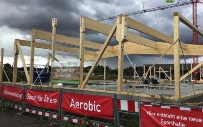 Errichtung einer Sporthalle für Kampfsportarten in Brühl!