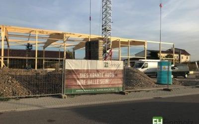 Errichtung einer Boulderhalle in Neustadt