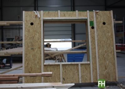 Kerto-T für Holzrahmenbau Häuser