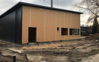 Aktuelle Baustelle: Neubau einer Gewerbehalle in Lüneburg!