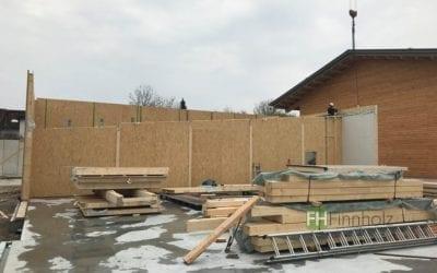 Aktuelle Baustelle — Produktionshalle in Efringen-Kirchen!