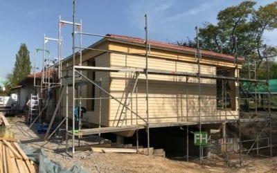 Neubau eines KITA-Gruppenraumes mit Zwischenraum in Soest.