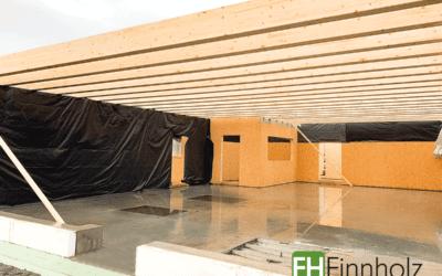 Aktuelle Baustelle in Lübbenau