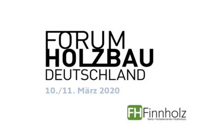 Forum Holzbau Berlin vom 10. bis 11. März