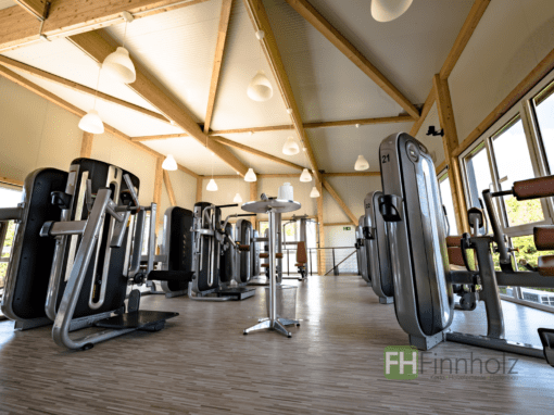 Anbau einer Fitnesshalle am Bestand in Wegberg