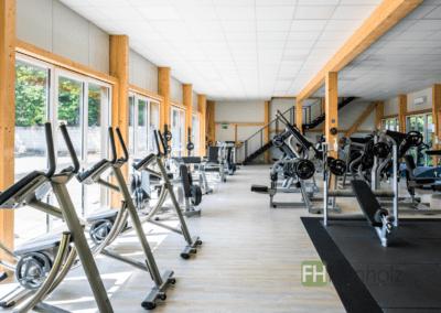 Anbau einer Fitnesshalle