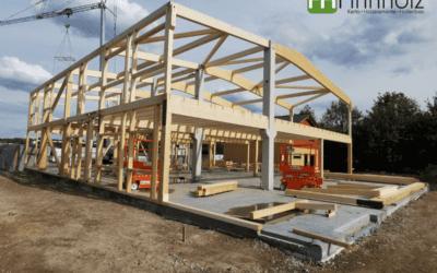 2‑geschossige Ausstellungs- und Produktionshalle in Havixbeck
