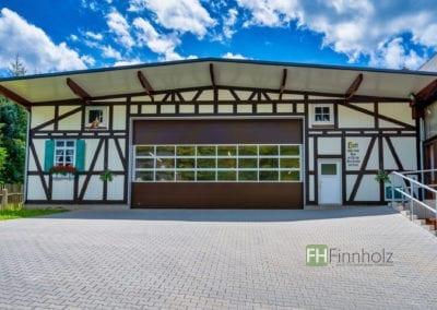 Gewerbehalle für Zimmereibetrieb in Glauchau
