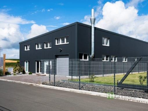 Gewerbehalle für Schreinereibetrieb in Grünberg